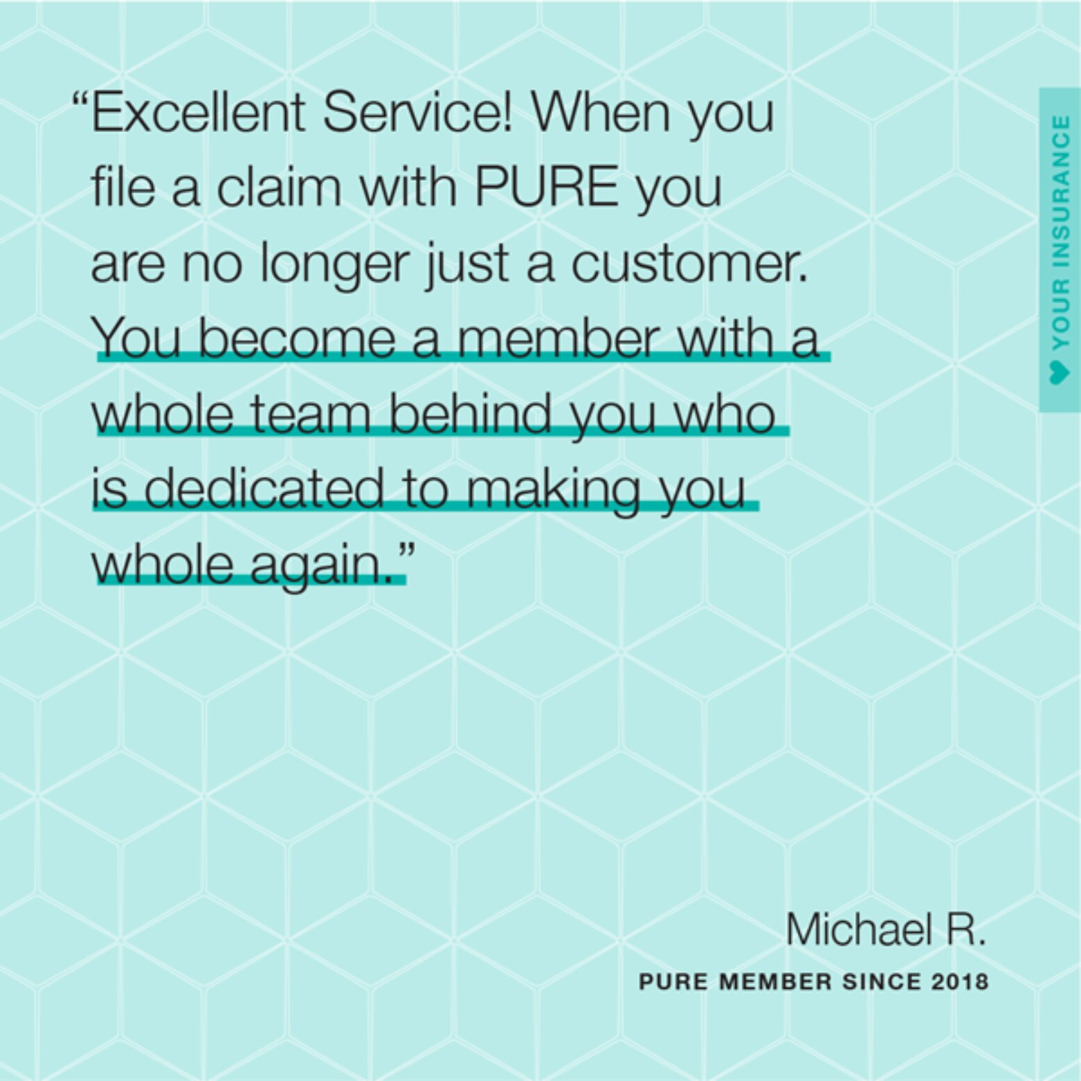 Michael R Quote Card