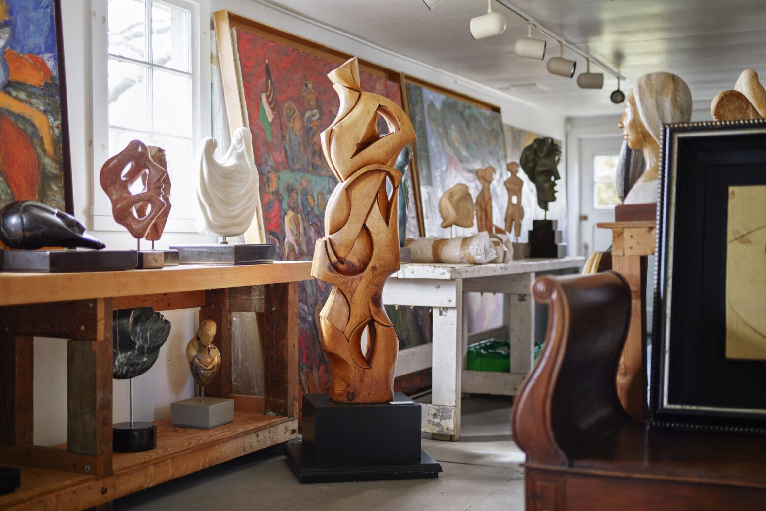 Quinn Sculptures 2