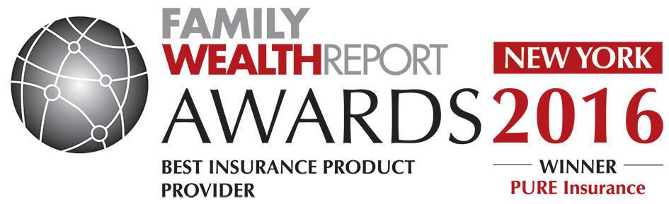 2016 Family Wealth Report Award