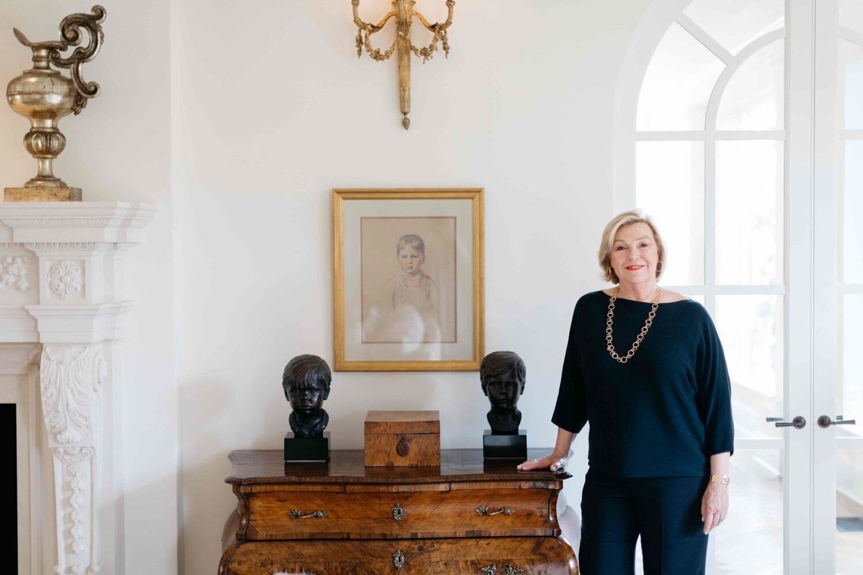 PURE member Perri Harcourt in her home in Santa Barbara, California.