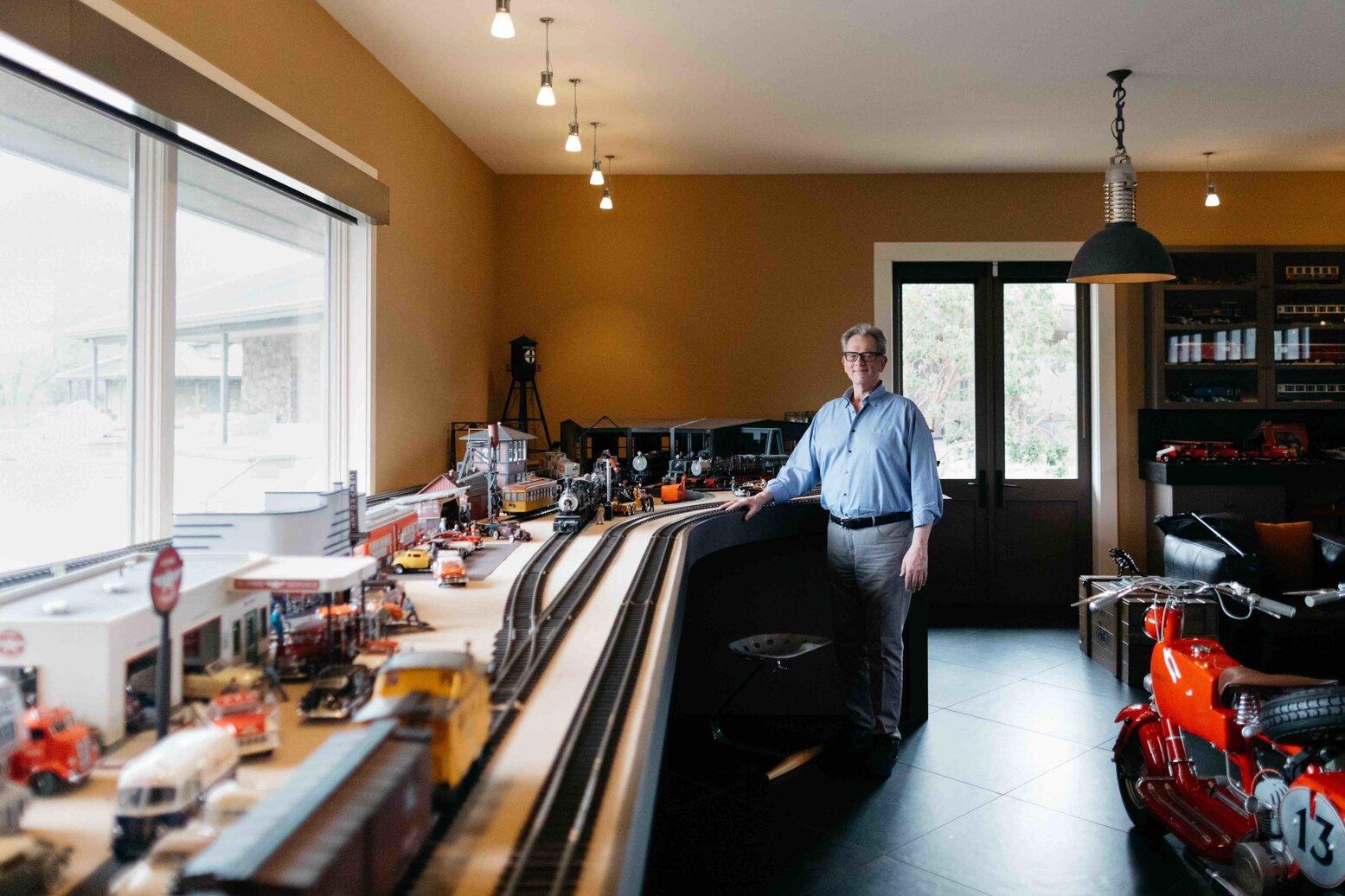 PURE member Ron DeKoven at his home in Calistoga, California.