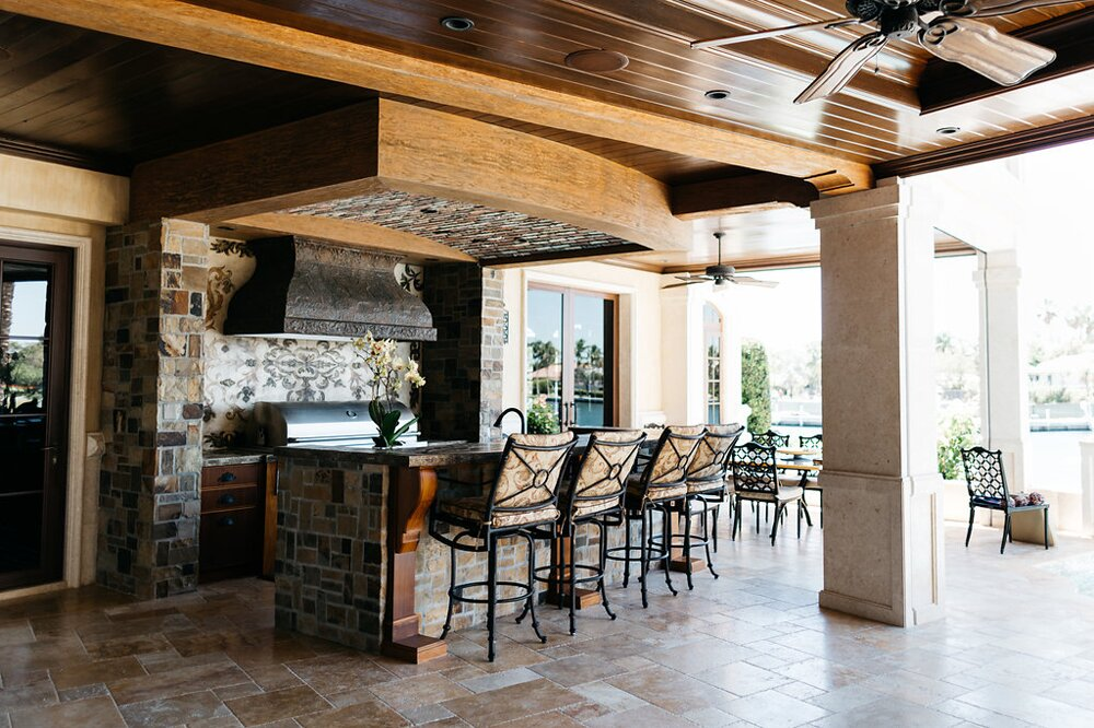 Inside the Ocean Reef Club home of PURE members Bob and Cindy Manzo.